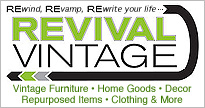 Revival vintage clothing and decor